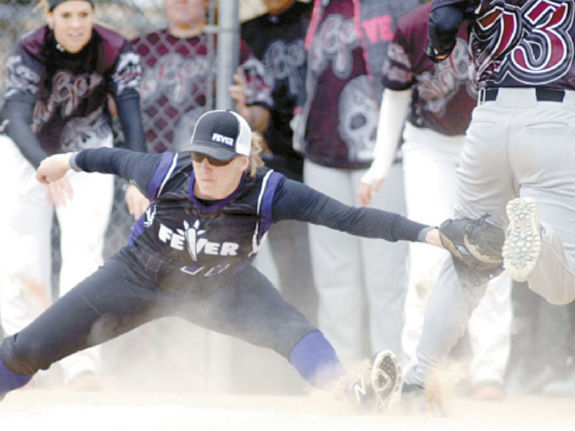 Stacey Blixt tagging for the out