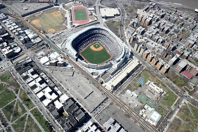 Yankee Stadium (aerial shot)