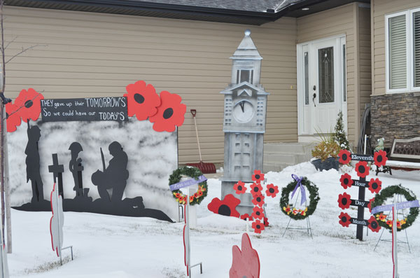 Martensville-Remembrance-Day-Display