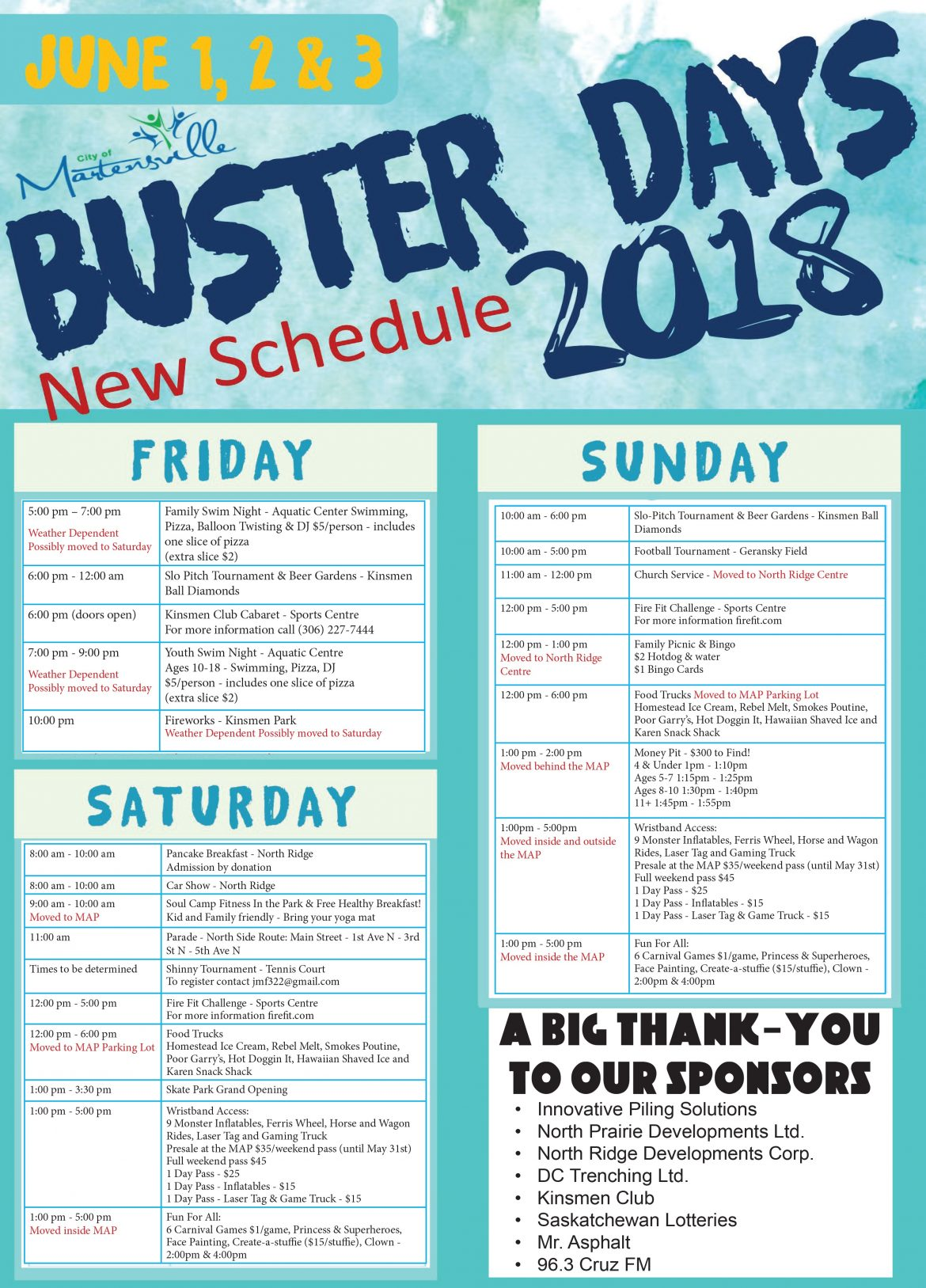 Buster Days Poster