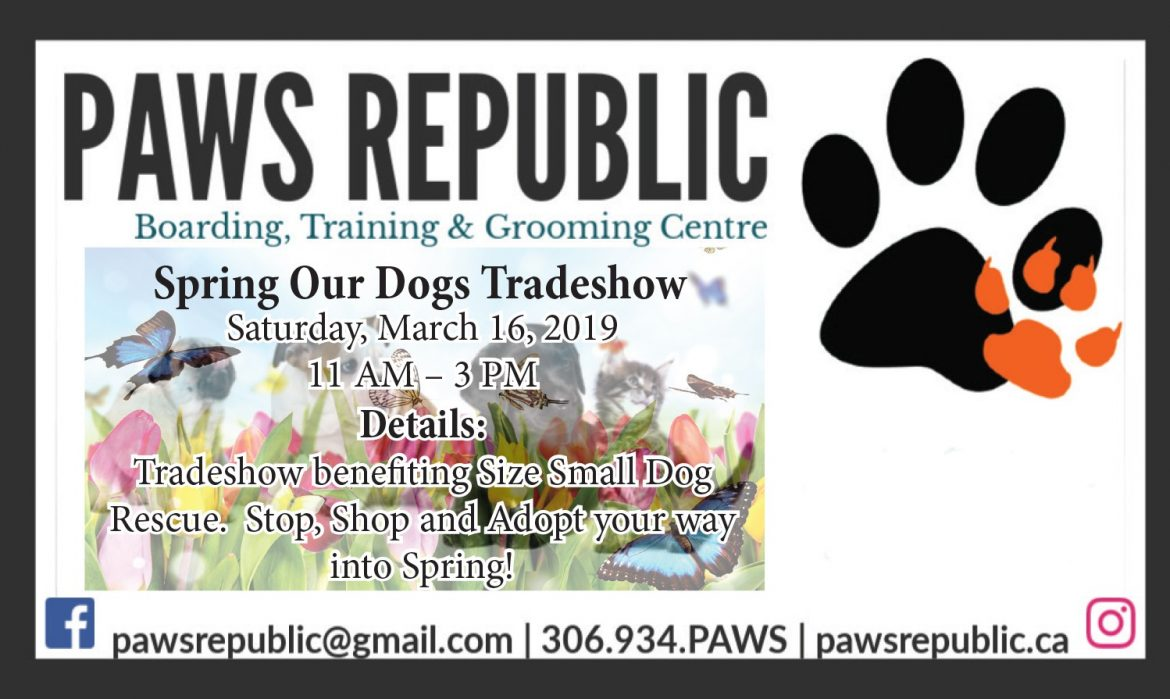 Paws March Ad