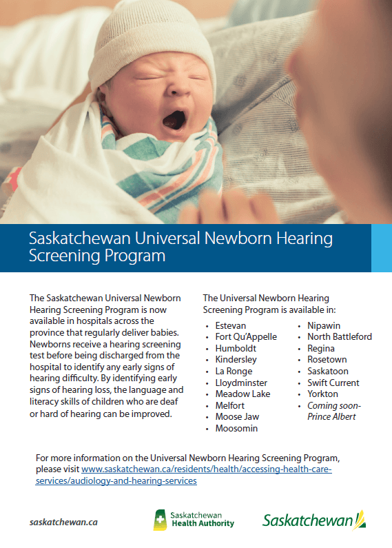 Newborn Hearing ad
